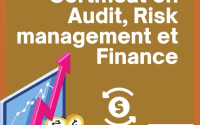 Certificat en Audit, Risk management et Finance