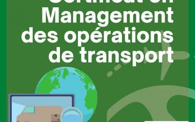 Certificat en Management des Opérations de Transport