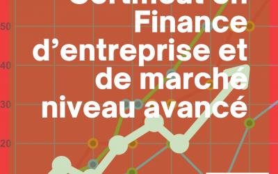 Certificat en Finance D'Entreprise et de Marché Niveau Avancé