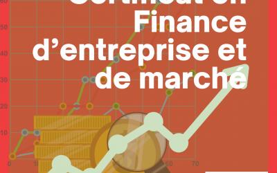 Certificat en Finance D'entreprise et De Marché