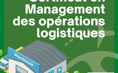 Certificat en Management des Opérations Logistiques
