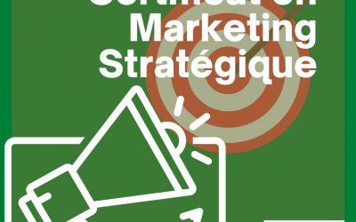 Certificat en Marketing Stratégique