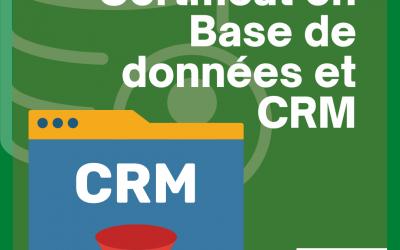 Certificat en Base de Données et CRM
