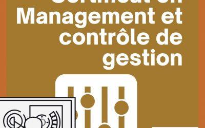 Certificat en Management et Contrôle de Gestion