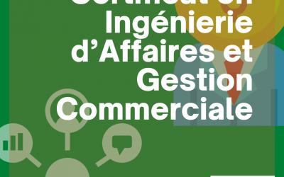 Certificat en Ingénierie d'Affaires et Gestion Commerciale