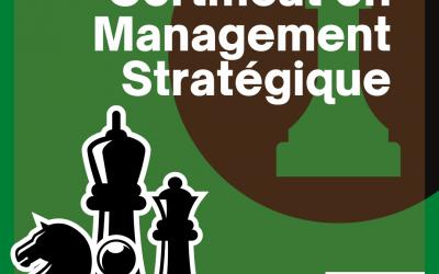Certificat en Management Stratégique